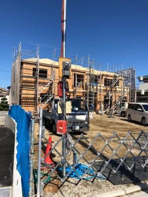 【外観】四條畷市岡山4丁目 新築戸建て