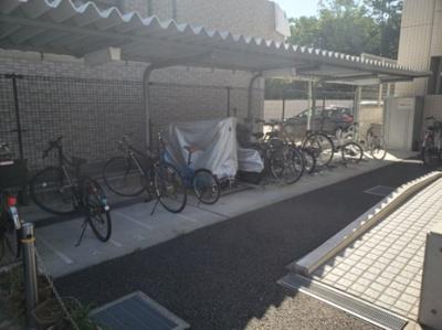 駐輪スペース☆神戸市垂水区 パインコート平磯☆