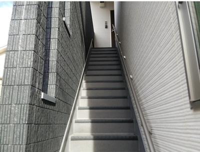 ヴィラ・エスポワール蒲田の階段