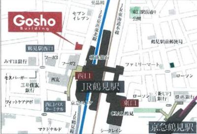 【地図】互省ビル