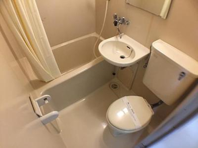 【浴室】ドルフ西岡本
