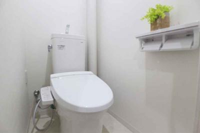 【トイレ】オリーブハイツ相川一号棟