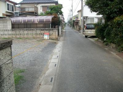 【前面道路含む現地写真】前久保南売地