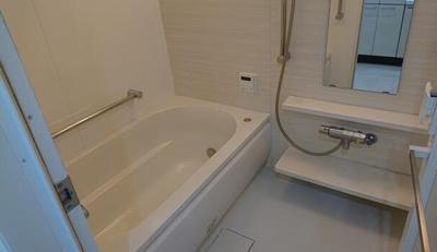 ゆっとりとした浴室