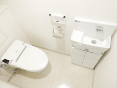 【トイレ】ラ・クレアーレ京町堀パークヴィラ