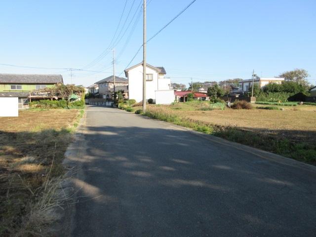 【前面道路含む現地写真】東松山市古凍 売地