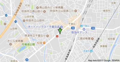 【地図】マンション清涼