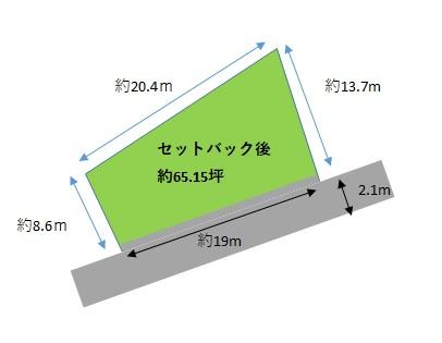 【土地図】富岡市七日市/土地