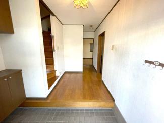 開放感のある玄関スペースです!