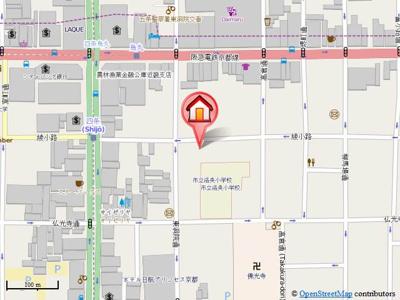 【地図】グランジュール綾小路