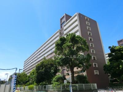 【外観】大島3丁目団地1号棟 4階 リ ノベーション済 南バルコニー