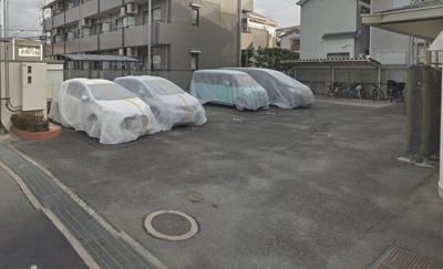 【外観】グレイス永田1号館駐車場