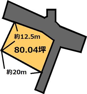 【土地図】石川 200万円