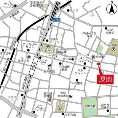 【地図】ヘリテイジ品川