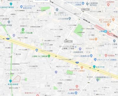 【地図】メゾンド練馬