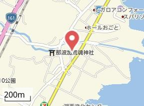 【地図】苗鹿1丁目Y邸貸家