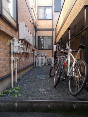 ライフピア目白台Ⅲの駐輪スペース☆