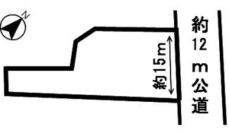 【区画図】53966 関市西日吉町土地