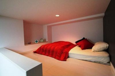 ハーモニーテラス東駒形の落ち着いて過ごせるお部屋なので、寝室にいかがでしょうか(ロフト・イメージ図)☆