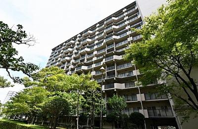 【外観】京橋グリーンハイツ3号棟