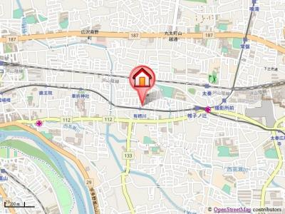 【地図】メゾン・ド嵯峨野