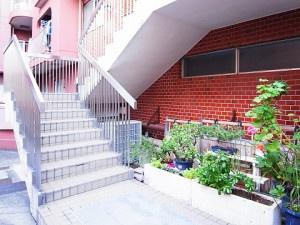 共用の階段です