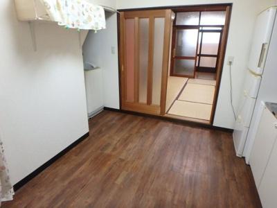 【居間・リビング】都島本通三丁目テラスハウス