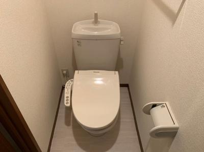 落ち着いたトイレです 【COCO SMILE】