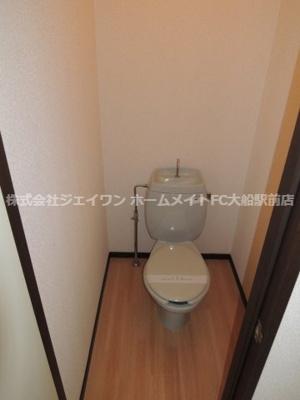 【トイレ】フジハイツ