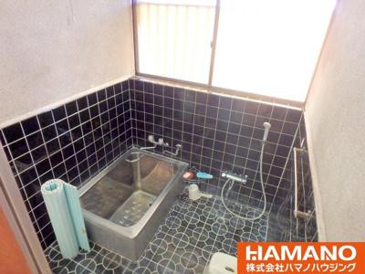 【浴室】筑西市桑山中古戸建