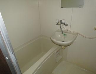 【浴室】静岡県御前崎市白羽一棟マンション