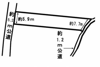 【区画図】53930 岐阜市長良土地