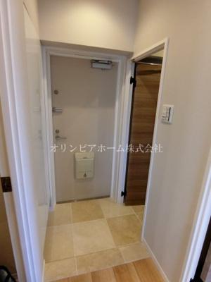 【玄関】亀戸サニーフラット 9階 リノベーション済 亀戸駅5分