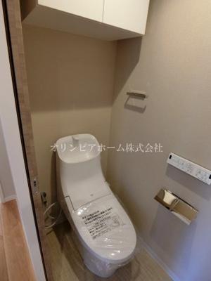 【トイレ】亀戸サニーフラット 9階 リノベーション済 亀戸駅5分