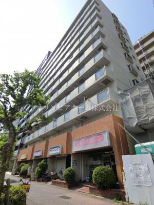 【外観】亀戸サニーフラット 9階 角 部屋 リ ノベーション済 亀戸駅5分