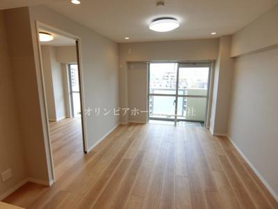 【居間・リビング】亀戸サニーフラット 9階 リノベーション済 亀戸駅5分