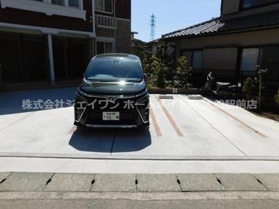 【駐車場】コンフォーティア鎌倉