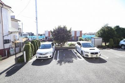 【駐車場】セゾントレビナ