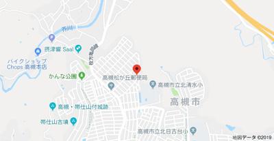 【地図】安岡寺5丁目貸家 【短期貸し専用】