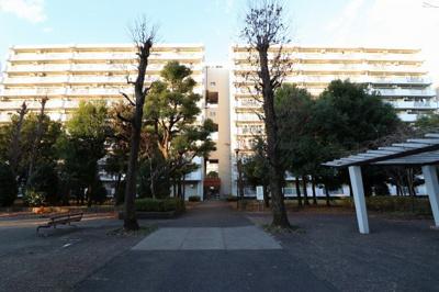 【外観】昭島つつじが丘ハイツ21号棟