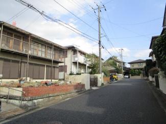 千葉市若葉区加曽利町 土地 千葉駅  前面道路広々としており、駐車も安心です!