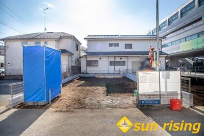 【外観】立川市幸町5丁目 新築一戸建 全2棟 2号棟