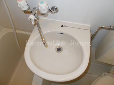 ライフピアフォレストの洗面台(別部屋参考写真)