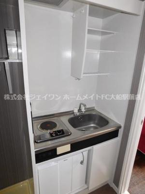 【キッチン】ジュネパレス横浜第8
