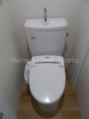 仮称)北千住ハーモニーハウスのコンパクトで使いやすいトイレです