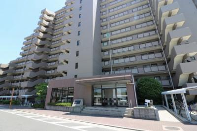 【外観】ファミールハイツ上野芝Ⅱ番館