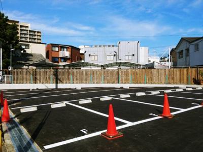 【外観パース】上坂部3丁目ガレージ 管理番号36