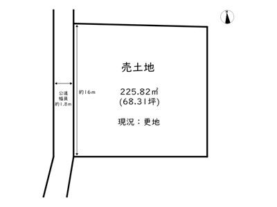 【区画図】網干区垣内本町売土地