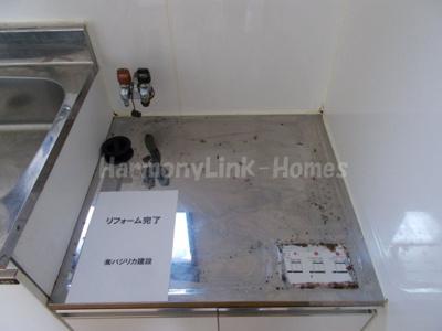 鈴木コーポはガスコンロ設置可能