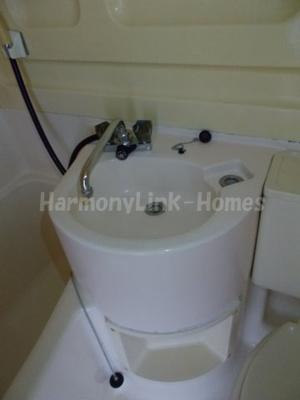 鈴木コーポの洗面台